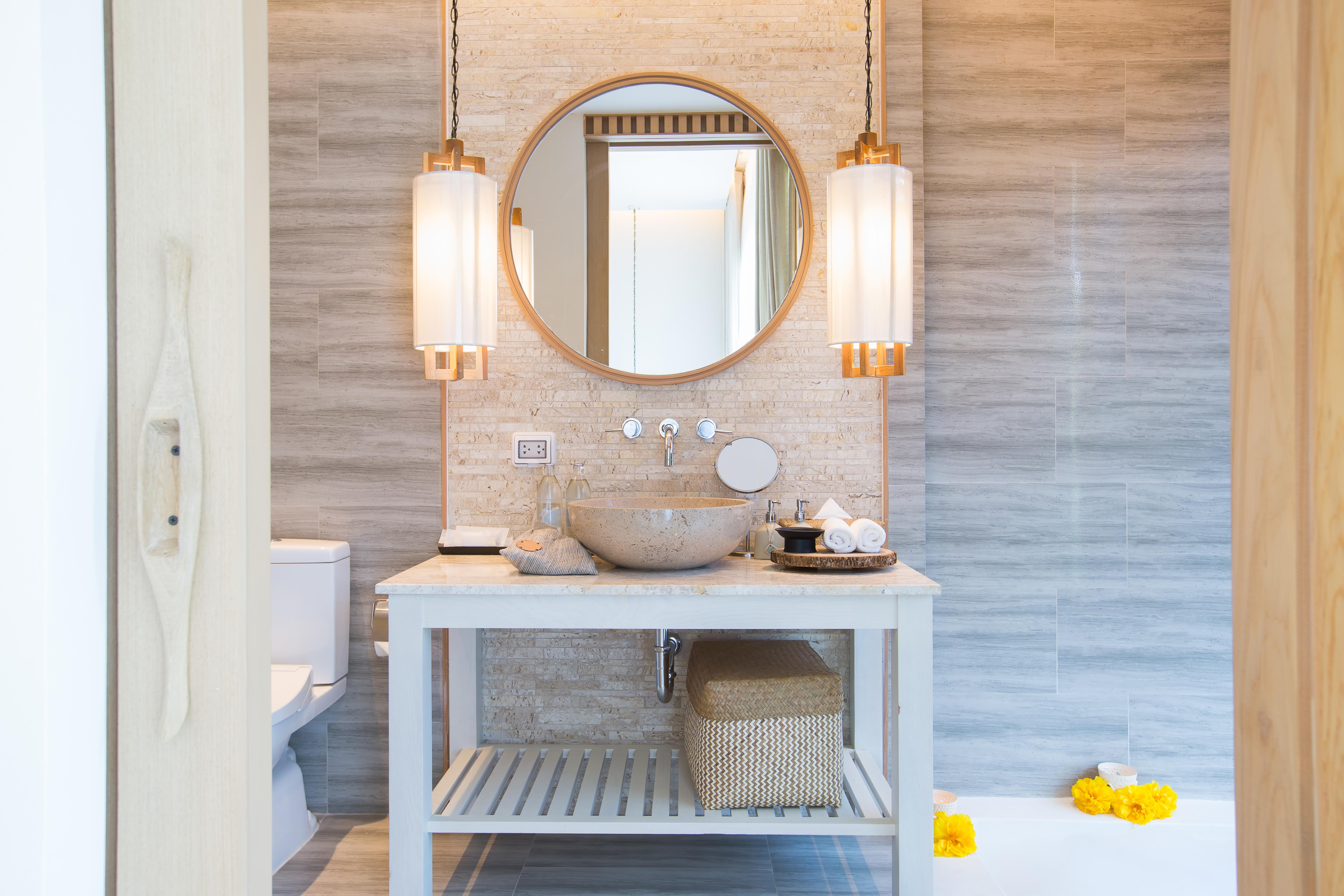 Habitat Meuble De Salle De Bain aménagement salle de bain design : mes idées et conseils