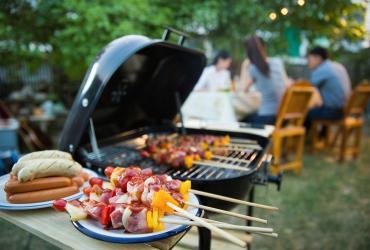 J'aménage un coin barbecue dans mon jardin