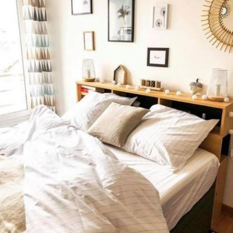 amenagement chambre cocooning blanche