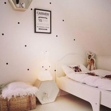 chambre style minimaliste