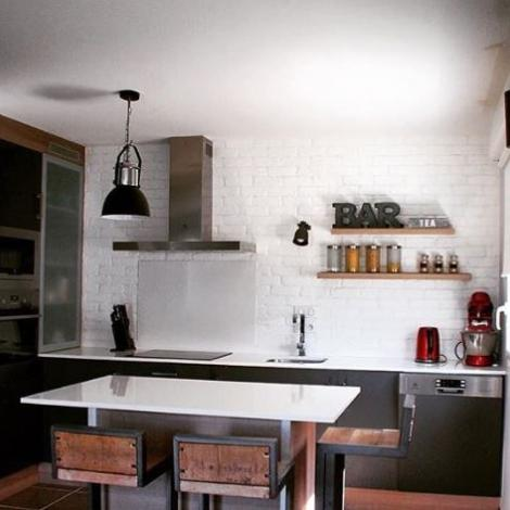 cuisine ouverte style minimaliste