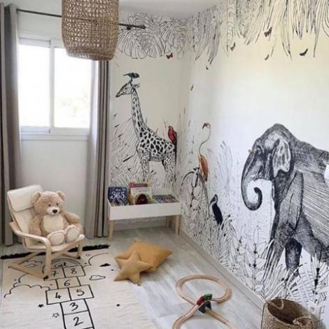 coach décoration intérieur chambre enfants