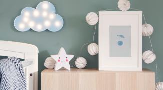 Décorer la chambre de bébé dans un style 100 % nature