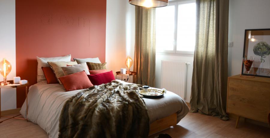 appartement duplex témoin à Brochon - Chambre