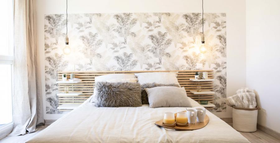 appartement duplex témoin à Besançon - chambre