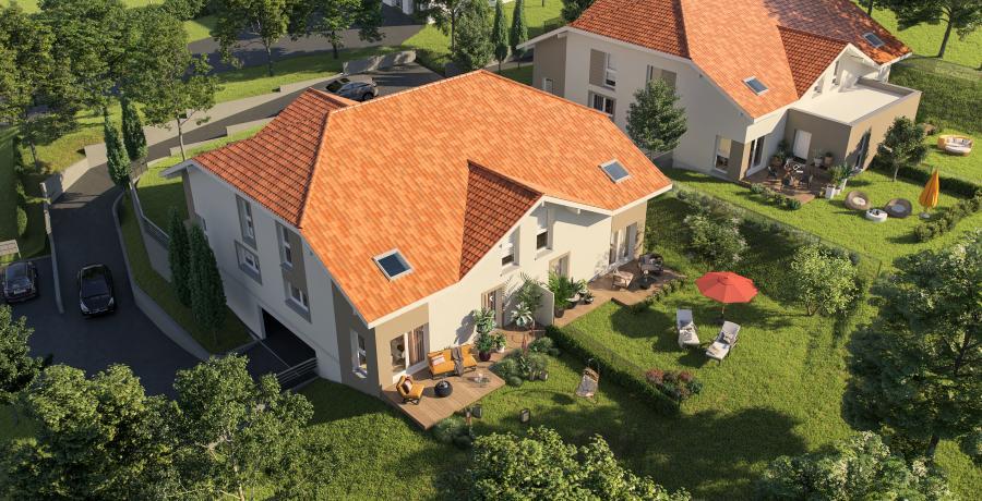 Appartement neuf Duplex-Jardin à Vétraz-Monthoux