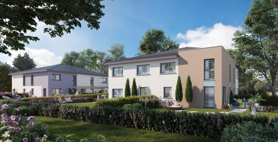 Appartement neuf Duplex-Jardin à Battenheim