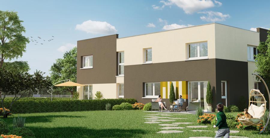 Appartement neuf Duplex-Jardin à Argiésans
