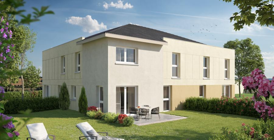 Appartement neuf Duplex-Jardin à Biesheim