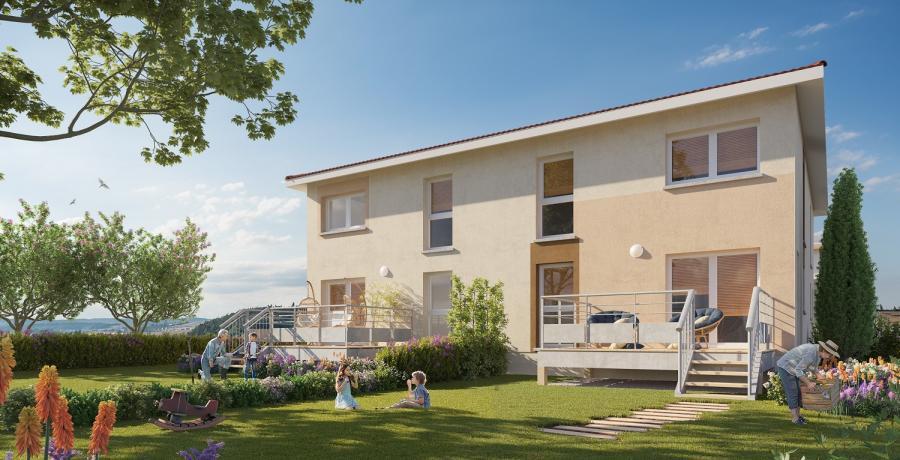 Appartement neuf Duplex-Jardin à Bourgoin-Jallieu