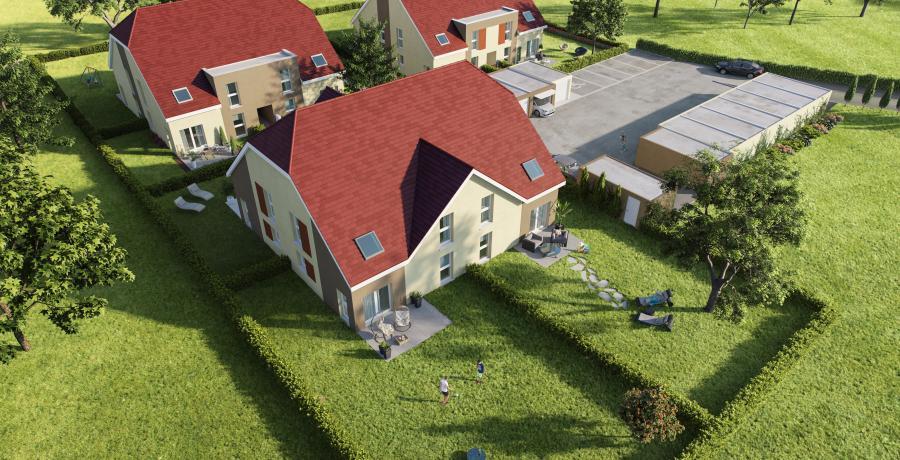 Maison neuve Duplex-Jardin à Dambenois