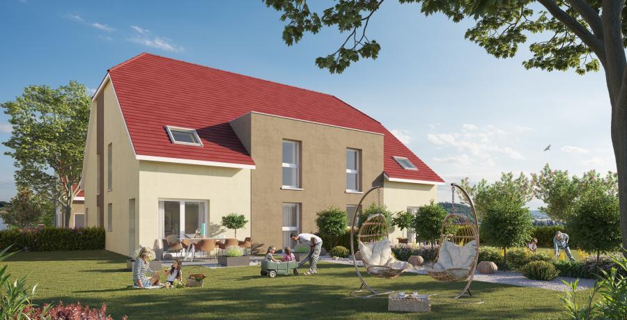 Appartement neuf Duplex-Jardin à Dambenois