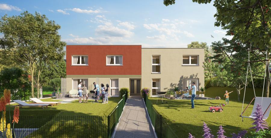 Appartement neuf Duplex-Jardin à Delle