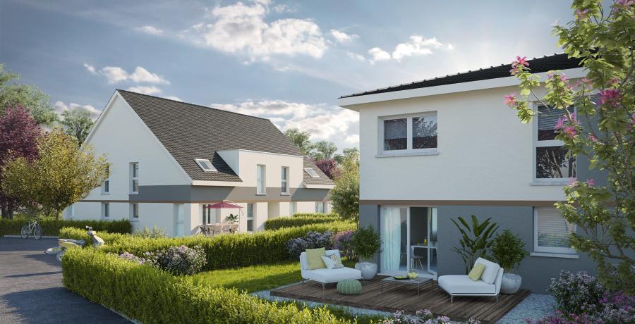 Appartement neuf Duplex-Jardin à Herrlisheim