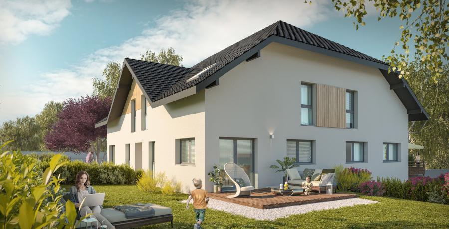 Appartement neuf Duplex-Jardin à La Motte-Servolex