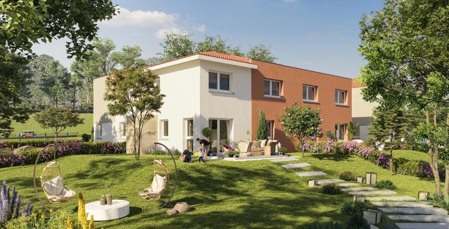 Appartement neuf Duplex-Jardin à Ranspach-le-Bas