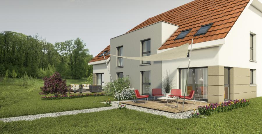 Appartement neuf Duplex-Jardin à Rorschwihr