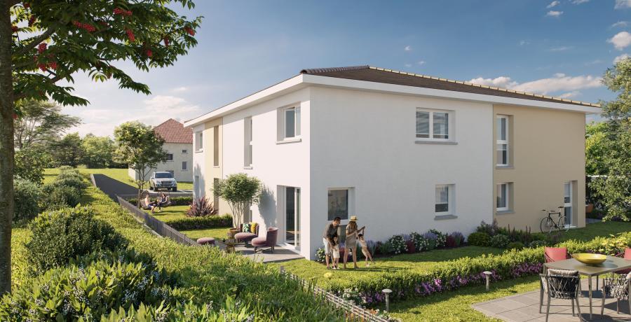Appartement neuf Duplex-Jardin à Villers-le-Lac