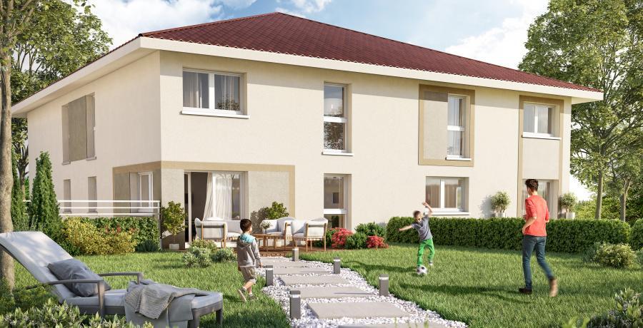 Appartement neuf Duplex-Jardin à Bons-en-Chablais