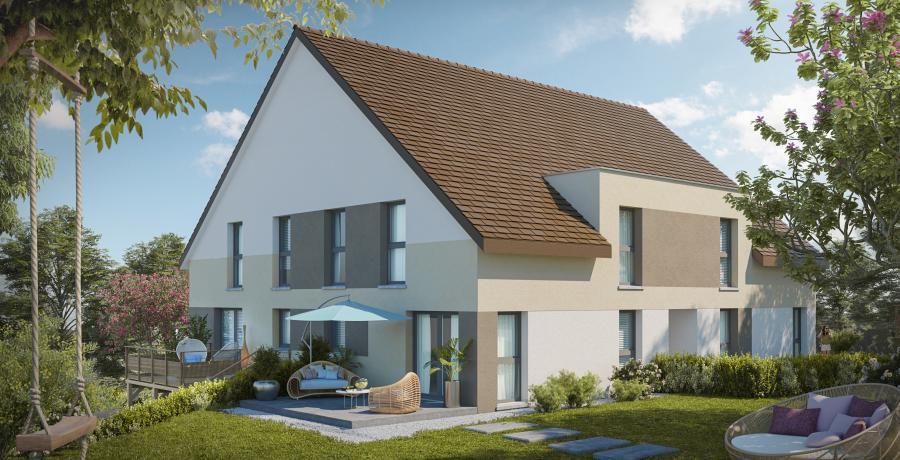 Appartement neuf Duplex-Jardin à Dijon