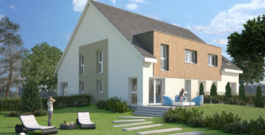 Appartement neuf Duplex-Jardin à Muespach-le-Haut