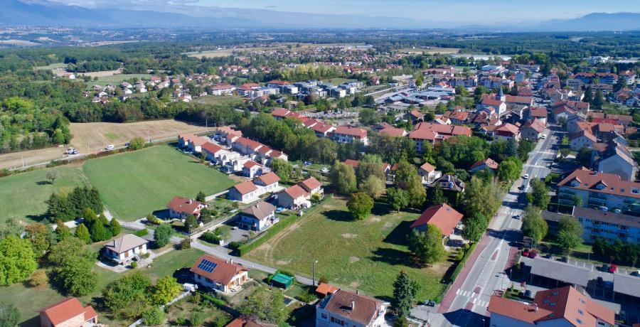 terrain appartements duplex Valleiry : Carrés du Sorbier