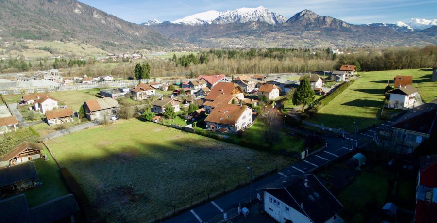 Programme immobilier neuf à Vougy : les Carrés des Valérianes, duplex-jardin
