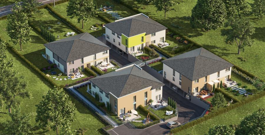 Maisons neuves quartier résidentiel Battenheim