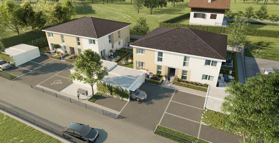 Maison neuve Duplex-Jardin à Villers-le-Lac
