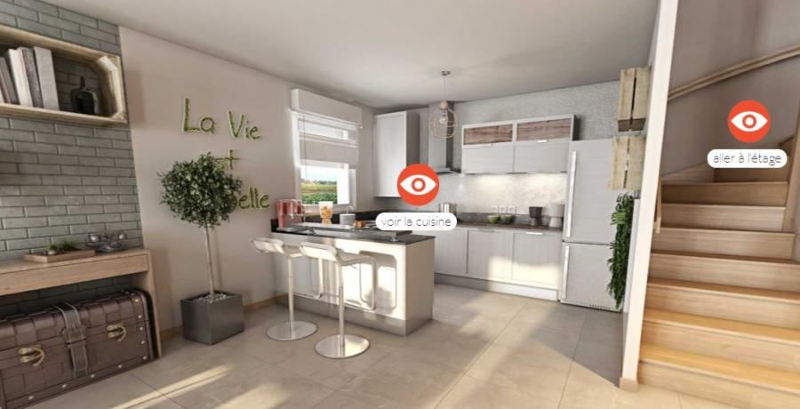 maison duplex 3d projeter visiter futur 360 personnalisee