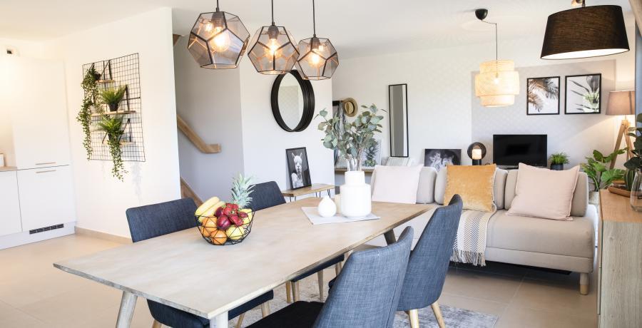programme immobilier neuf à boersch : les carrés arch'y duplex-jardin séjour