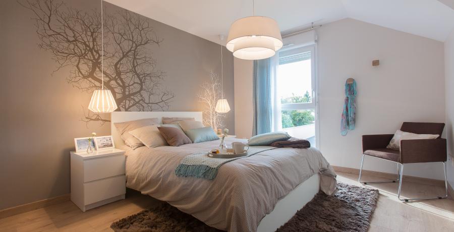 programme immobilier neuf à wintershouse : les carrés art'y, duplex-jardin chambre