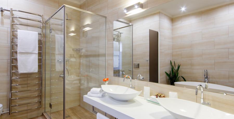 programme immobilier neuf à mamirolle : les carrés d'or duplex-jardin salle de bain