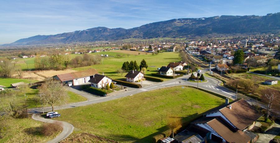 programme immobilier neuf à bons-en-chablais : les carrés de boisy terrain