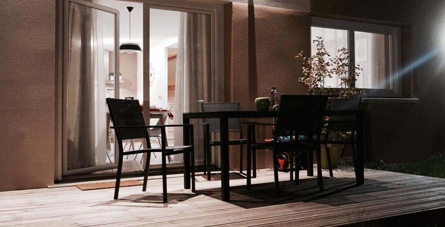 programme immobilier neuf à argiésans : les carrés de jeanne, duplex-jardin terrasse