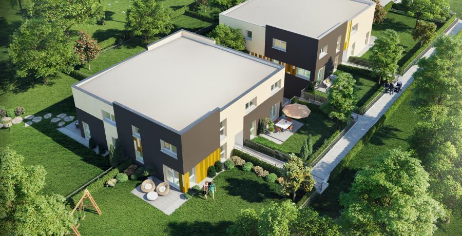 programme immobilier neuf à Argiésans : les carrés de jeanne – Duplex-Jardin