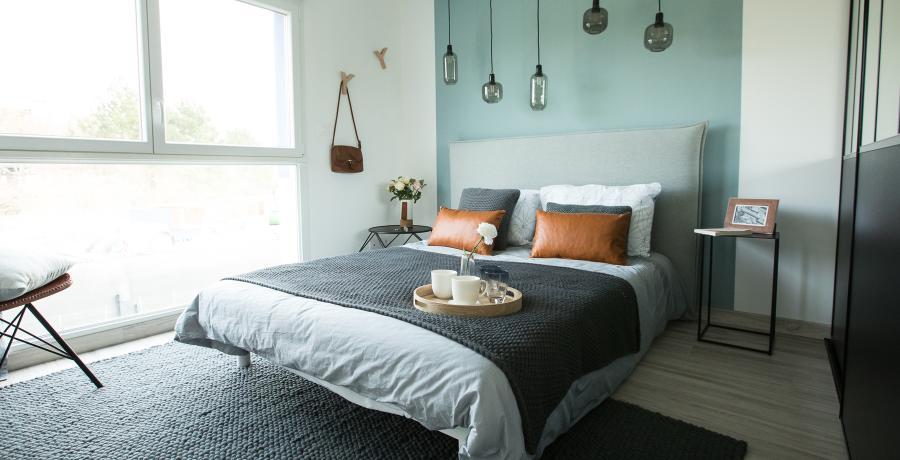 programme immobilier neuf à bourgoin-jallieu : les carrés des trèfles, duplex-jardin chambre