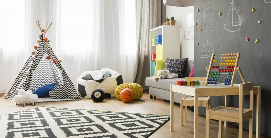 programme immobilier neuf à rorschwihr: les carrés millésimes, duplex-jardin chambre enfant