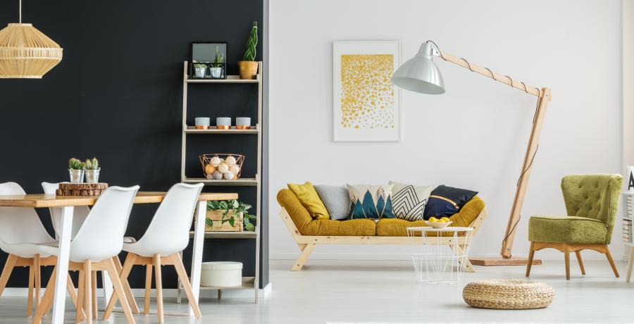programme immobilier neuf à rorschwihr: les carrés millésimes, duplex-jardin salle de séjour