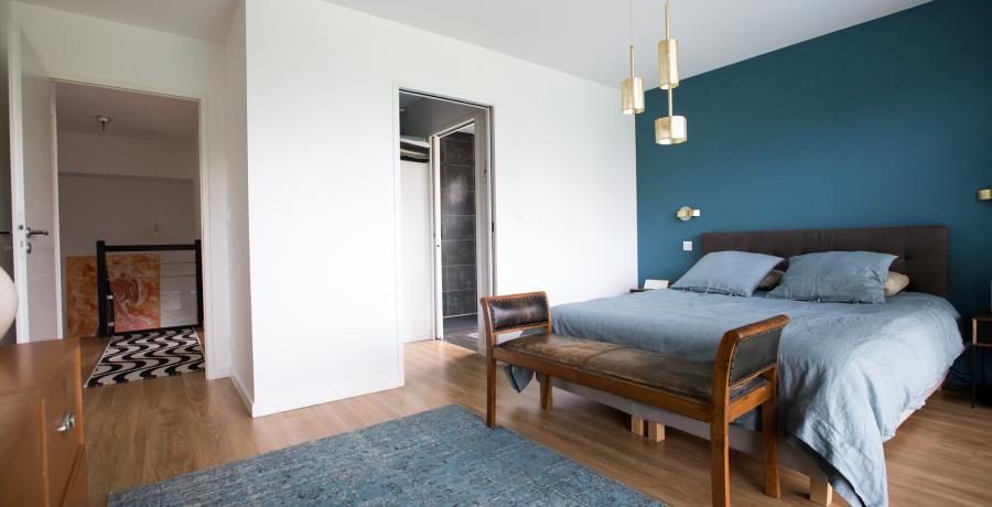 programme immobilier neuf à vigoulet-auzil : les carrés natura, duplex-jardin chambre