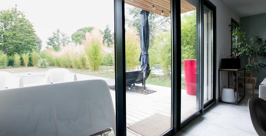 programme immobilier neuf à vigoulet-auzil : les carrés natura, duplex-jardin extérieur
