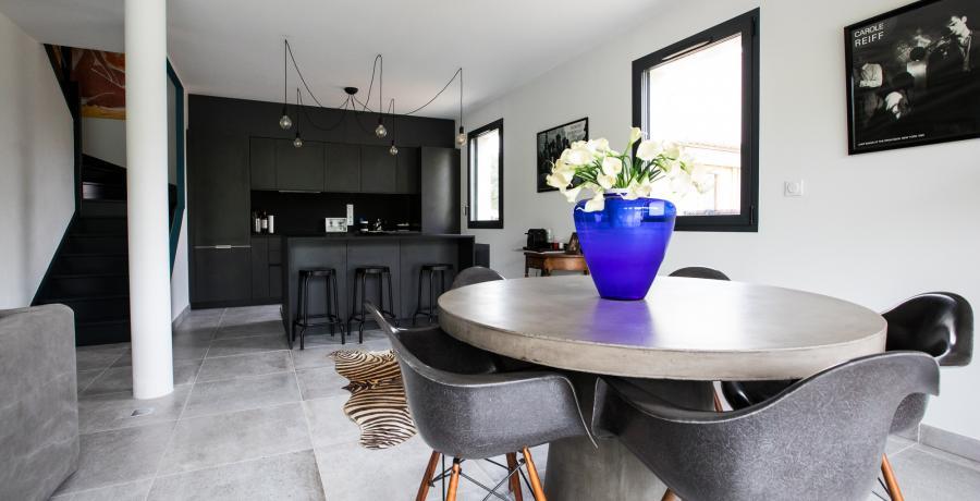 programme immobilier neuf à vigoulet-auzil : les carrés natura, duplex-jardin séjour