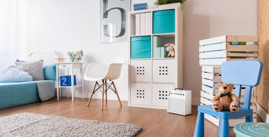 programme immobilier neuf à dijon: les carrés néha, duplex-jardin chambre enfant