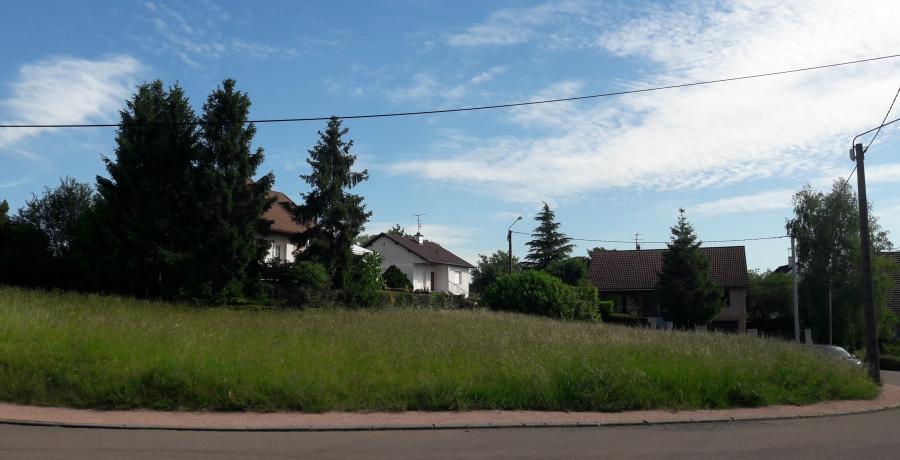 programme immobilier neuf à dijon: les carrés néha, terrain