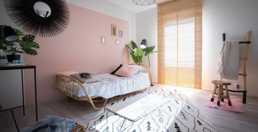 programme immobilier neuf à wasselonne : les carrés origami, duplex-jardin chambre