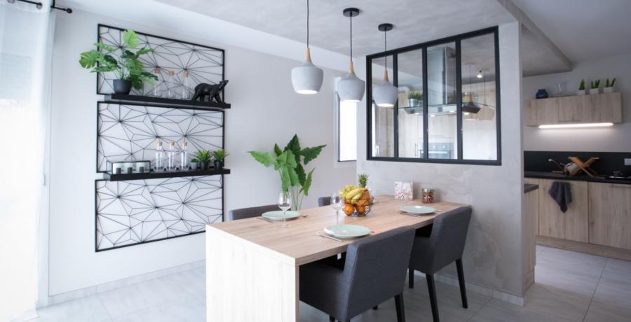 programme immobilier neuf à wasselonne : les carrés origami, duplex-jardin séjour