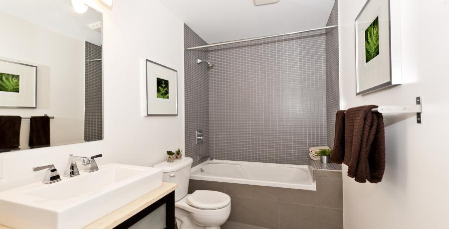 programme immobilier neuf à meistratzheim : les carrés origine, duplex-jardin salle de bains