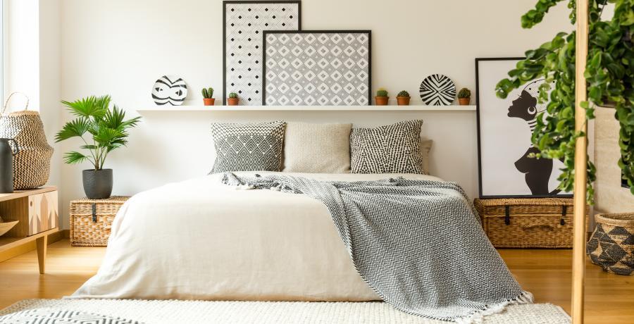 programme immobilier neuf à mouxy : les carrés Plein'R duplex-jardin chambre
