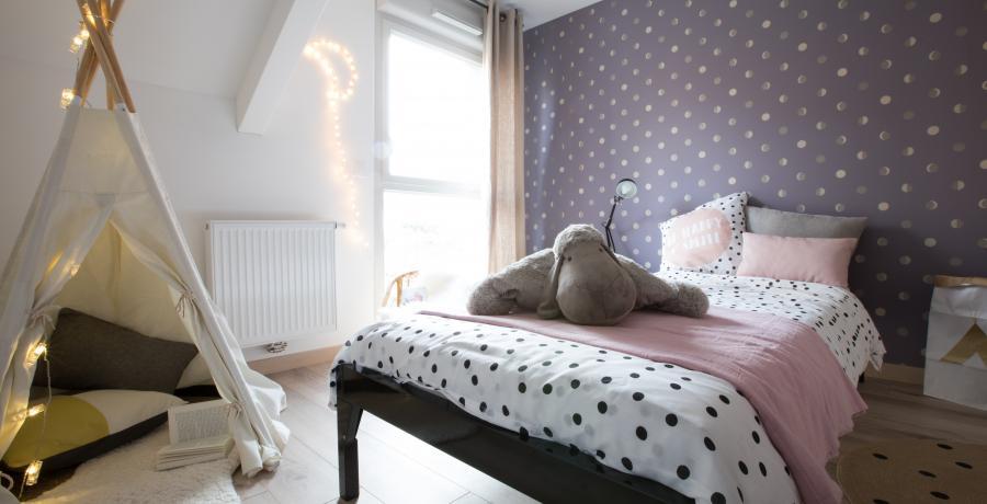 programme immobilier neuf à keffendorf : les carrés tetra, duplex-jardin chambre enfant