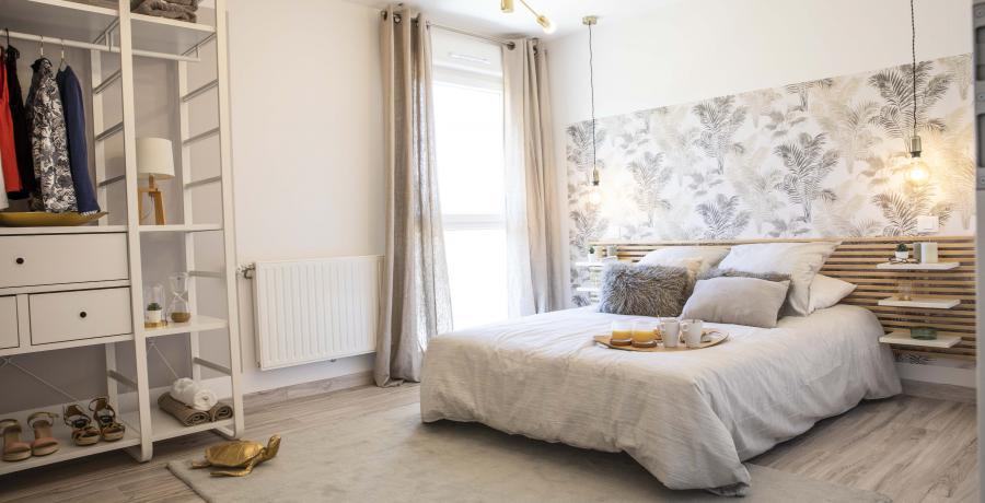 programme immobilier neuf à thann : les carrés théobald duplex-jardin chambre